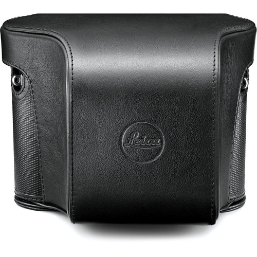 Leica Q Ever-Ready Case for Q Digital Camera (Leather, Black)