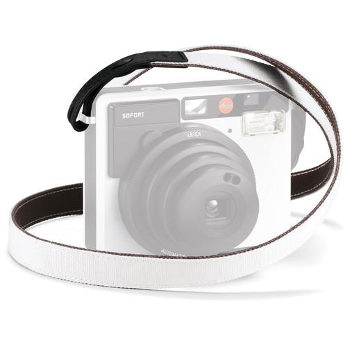 Leica Strap for Sofort Instant Film Camera (White/Black)
