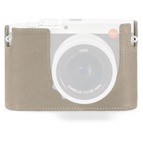 Leica Leica Protector for Q Typ 116 Half Case (Cemento, Leather)