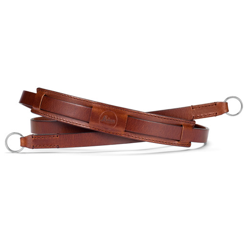 Leica Vintage Leather Neck Strap (Brown)