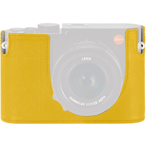 Leica Leica Protector for Q Typ 116 Half Case (Yellow, Leather)
