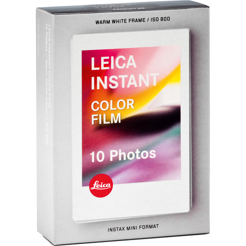 Leica Sofort Color Instant Film Pack (10 Exposures, Expiration Date: 01/2019)