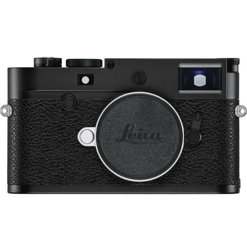 Leica M10-P Digital Rangefinder Camera (Black Chrome)