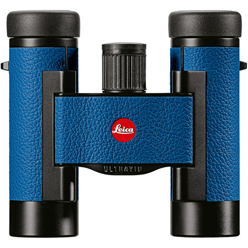 Leica 8x20 Ultravid Colorline Binocular (Capri Blue)