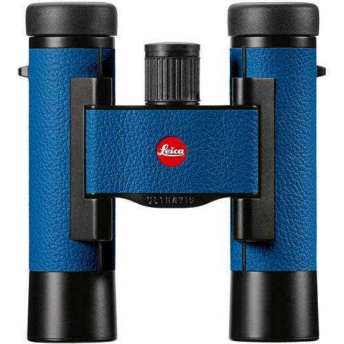 Leica 10x25 Ultravid Colorline Binocular (Capri Blue)
