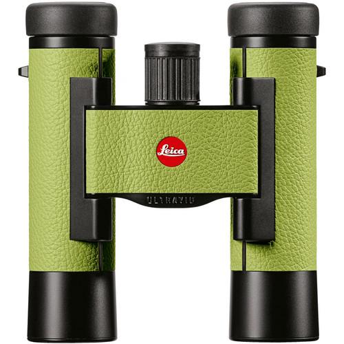 Leica 10x25 Ultravid Colorline Binocular (Apple Green)
