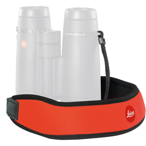 Leica Neoprene Binocular Strap (Juicy Orange)