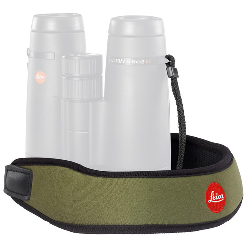 Leica Neoprene Binocular Strap (Olive Green)