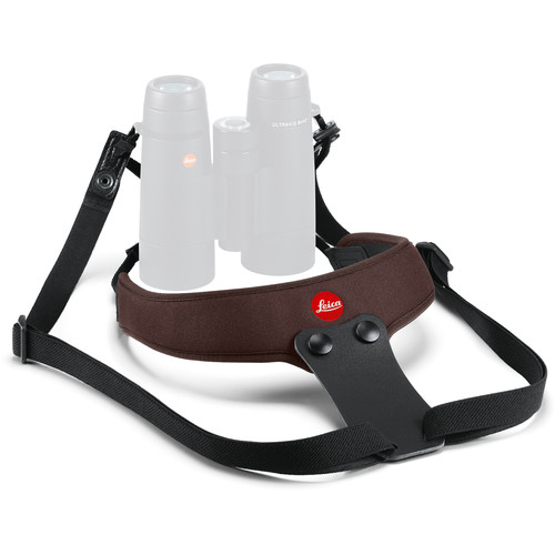 Leica Neoprene Binocular Sport Strap (Chocolate Brown)