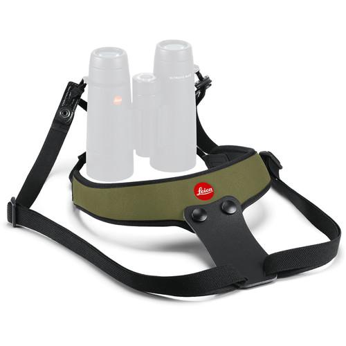 Leica Neoprene Binocular Sport Strap (Olive Green)
