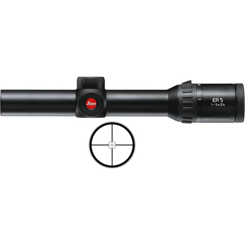 Leica 1-5x24 ER 5 Riflescope (Circle Plex)