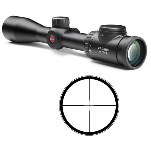 Leica 1.5-10x42 Magnus i Riflescope (Illuminated L-Plex Reticle, Matte Black)