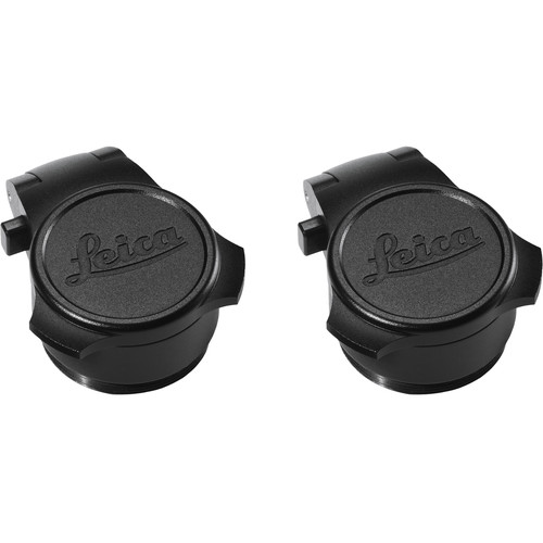 Leica 24mm Flip Caps (2-Pack, Black)