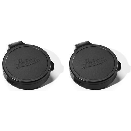 Leica 56mm Flip Caps (2-Pack, Black)