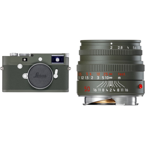 Leica M10-P Edition 'Safari' Digital Rangefinder Camera with 50mm f/2 Lens Kit