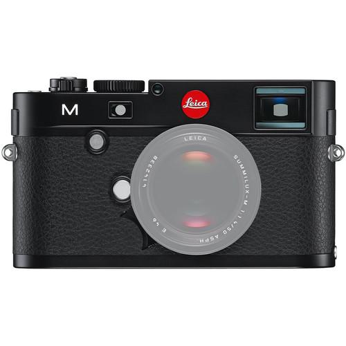 Leica M (Typ 240) Digital Rangefinder Camera with Berlin II Camera Bag (Black Body, Black Bag)