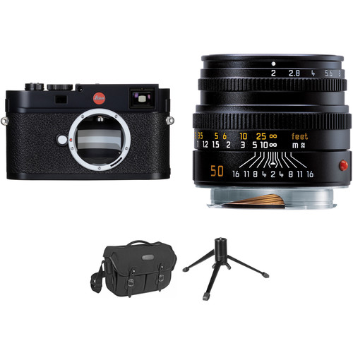 Leica M (Typ 262) Digital Rangefinder Camera with 50mm f/2 Lens Travel Photography Kit
