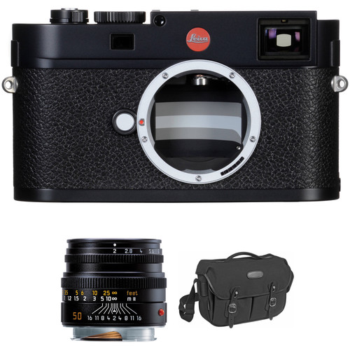 Leica M (Typ 262) Digital Rangefinder Camera with 50mm f/2 Lens Street Photography Kit