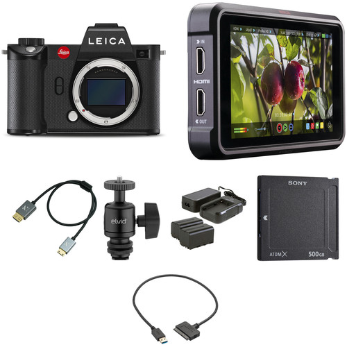 Leica SL2 Mirrorless Digital Camera Body with Cine Kit