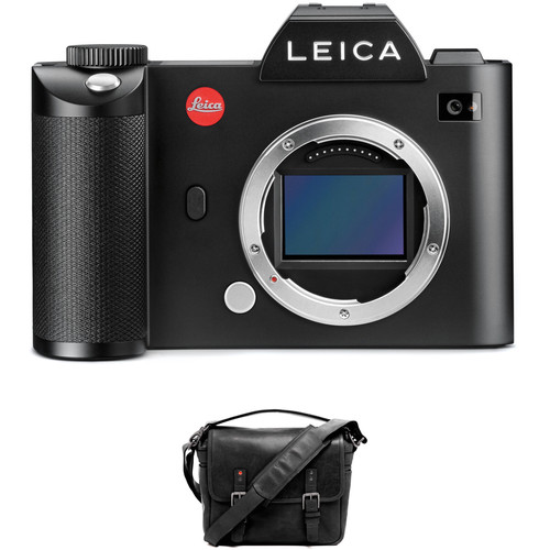 Leica SL (Typ 601) Mirrorless Digital Camera with Berlin II Camera Bag (Black)
