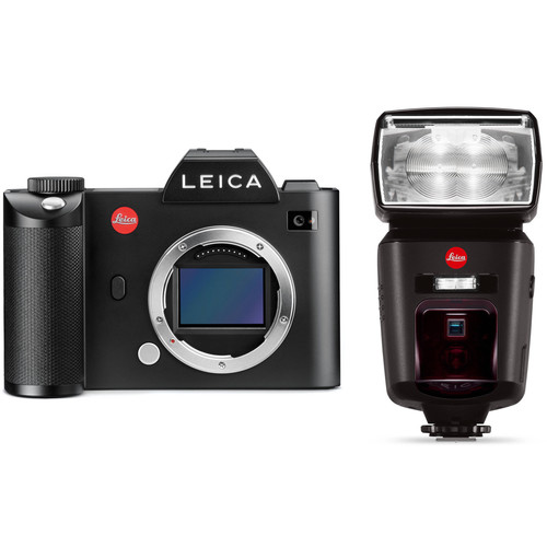 Leica SL (Typ 601) Mirrorless Digital Camera with Flash Kit
