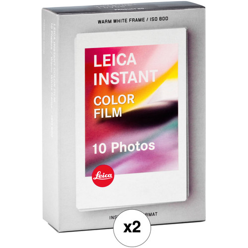 Leica Sofort Color Instant Film Double Pack (20 Exposures, Expiration Date: 01/2019)