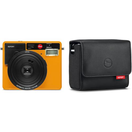 Leica Sofort Instant Film Camera with Case Kit (Orange)