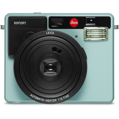 Leica Sofort Instant Film Camera with Case and Monochrom Film Kit (Mint)