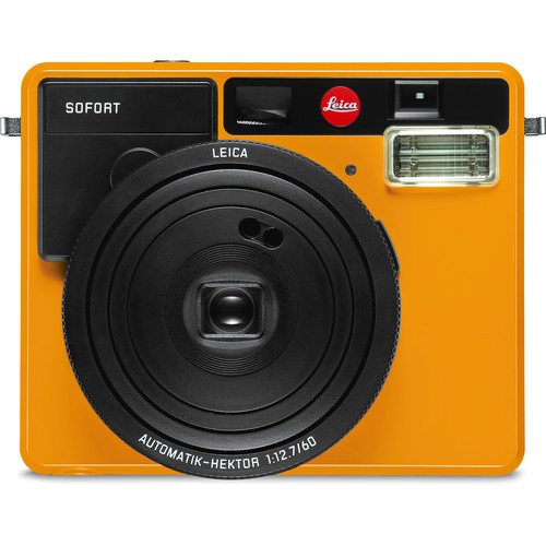 Leica Sofort Instant Film Camera with Case and Monochrom Film Kit (Orange)