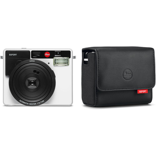 Leica Sofort Instant Film Camera with Case Kit (White)