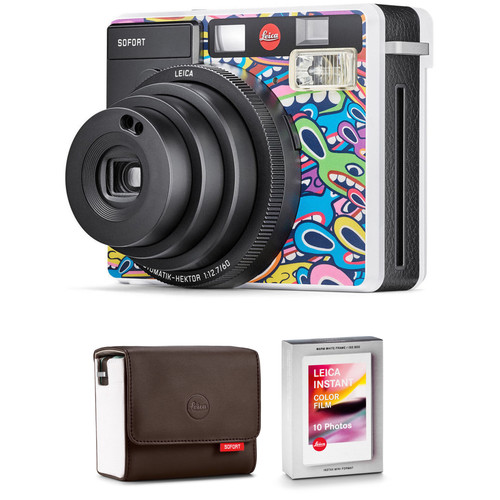 Leica Sofort Instant Film Camera with Case and Color Film Kit (LimoLand by Jean Pigozzi Special Edition)