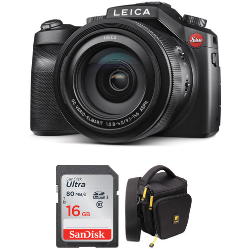 Leica V-LUX (Typ 114) Digital Camera with Free Accessory Kit