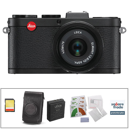 Leica X2 Digital Camera Deluxe Kit (Black)