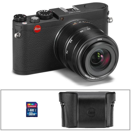 Leica X Vario Digital Camera Basic Kit (Black)