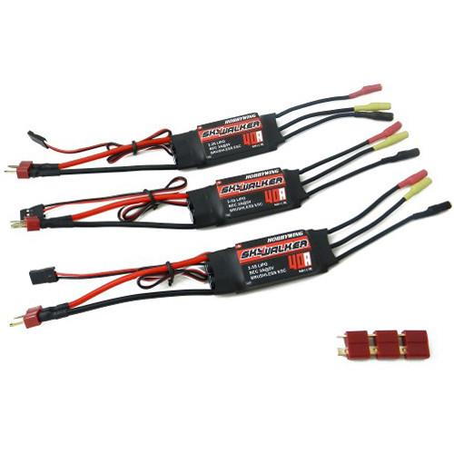 Lemon RX ESC 40A Continuous Battery with 3A BEC (3 Units)