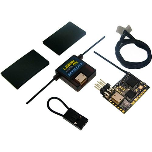 Lemon RX DSMX Compatible PPM 8-Channel Receiver with DSMX Compatible Satellite (Failsafe)