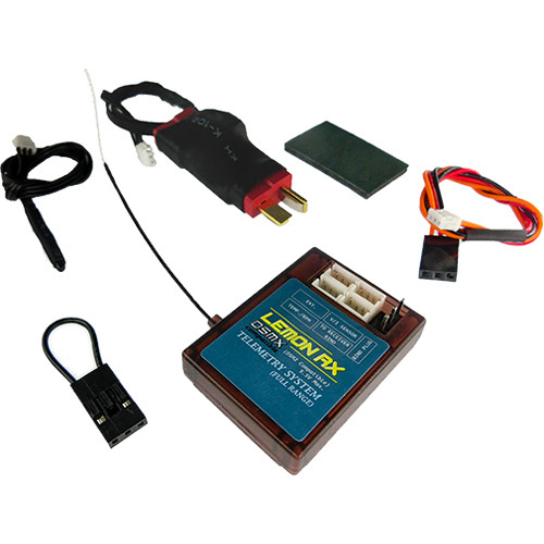 Lemon RX DSMX/DSM2 Compatible Full Range Telemetry System (T-Plug Package)