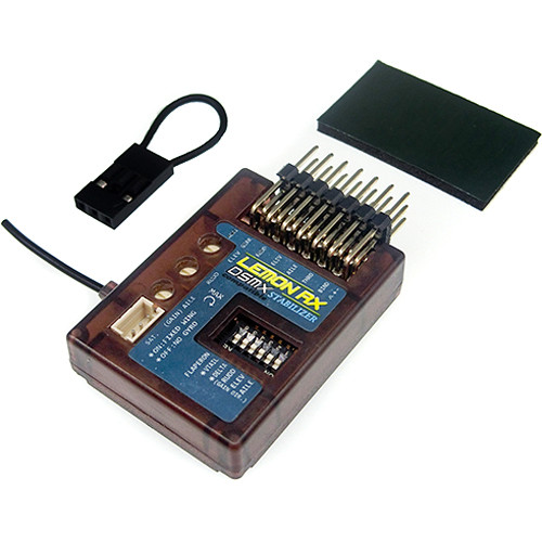 Lemon RX DSMX Compatible 7-Channel (End-Pin) Stabilizer