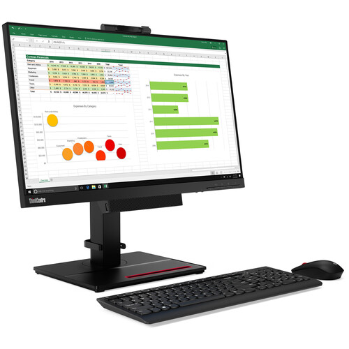 """Lenovo 23.8"""" ThinkCentre Tiny-in-One 24 Gen 4 Multi-Touch Monitor"""