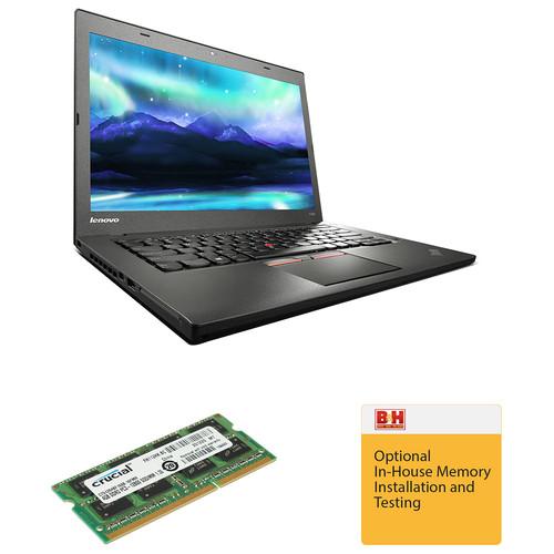 "Lenovo 14"" ThinkPad T450 Ultrabook Upraded to 8GB of RAM Kit"