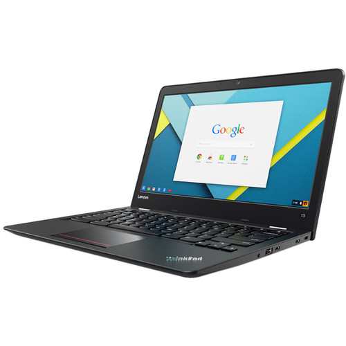 "Lenovo 13.3"" ThinkPad 13 Chromebook with Intel Celeron 3855U Processor (Black)"