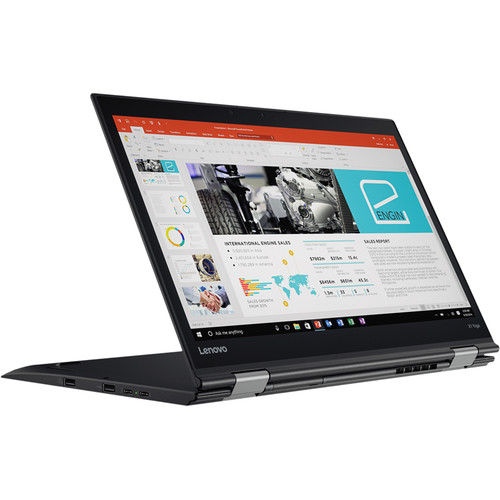 "Lenovo 14"" ThinkPad X1 Yoga Multi-Touch 2-in-1 Notebook (2nd Gen, Black)"