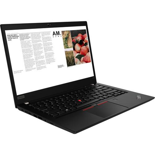 """Lenovo T490/ i7-8665U/ 16GB/ 512SSD/ UHD 620/ 14"""" (Glossy Black)"""