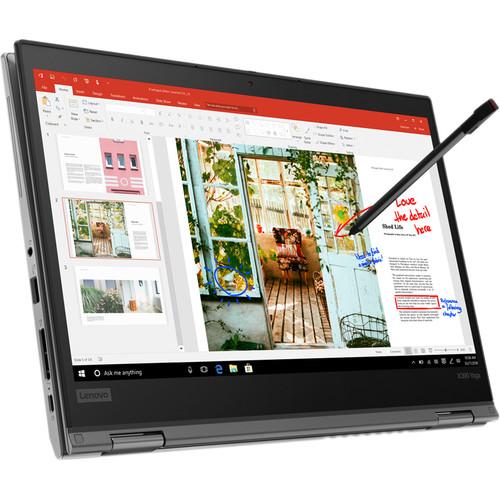 "Lenovo 13.3"" ThinkPad X390 Yoga Multi-Touch 2-in-1 Laptop (Silver)"