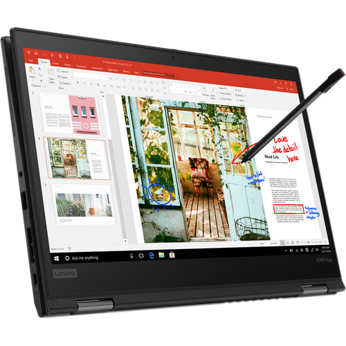 "Lenovo 13.3"" ThinkPad X390 Yoga Multi-Touch 2-in-1 Laptop (Black)"