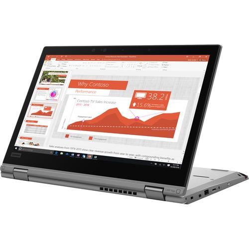 "Lenovo 13.3"" ThinkPad L390 Yoga Multi-Touch 2-in-1 Laptop (Silver)"