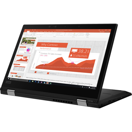 "Lenovo 13.3"" ThinkPad L390 Yoga Multi-Touch 2-in-1 Laptop (Black)"