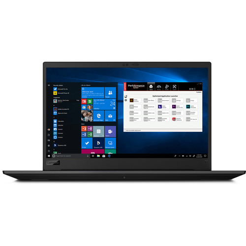 "Lenovo 15.6"" ThinkPad P1 Laptop Workstation (Gen 2, Black Weave)"