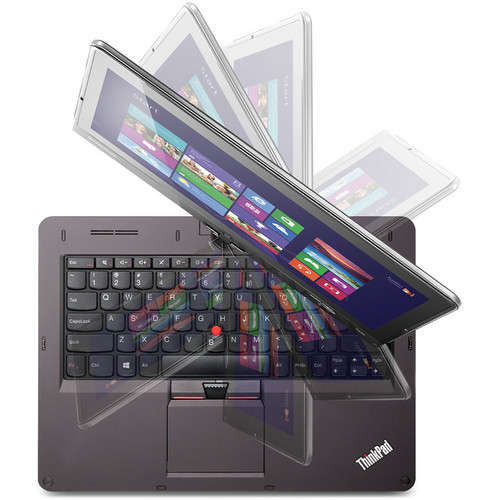 "Lenovo ThinkPad Twist 12.5"" Convertible Multi-Touch Ultrabook Computer (Black)"