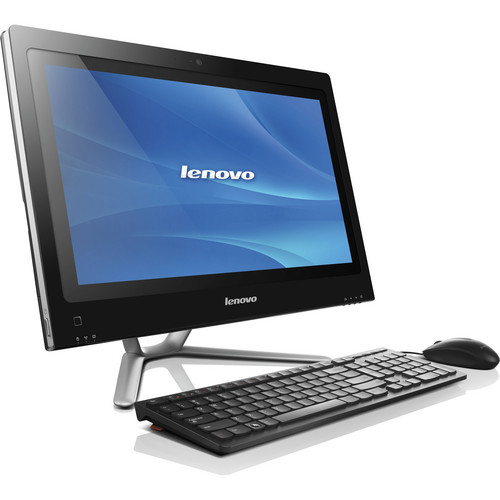 "Lenovo C440 57315616 Multi-Touch 21.5"" All-in-One Desktop Computer"